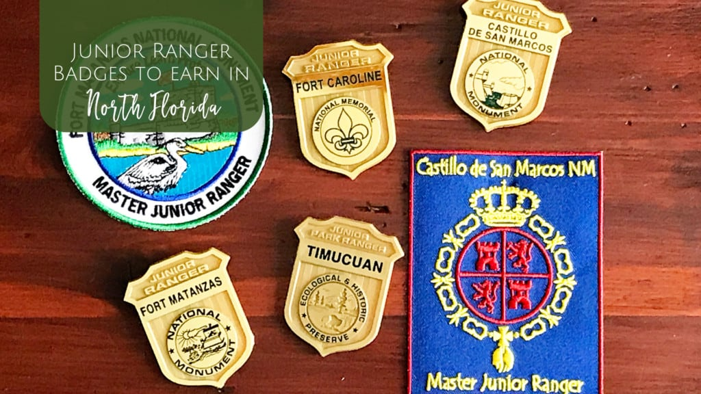 National Parks where you can earn a Junior Ranger Badge in North Florida. Jacksonville, St. Augustine & North Florida National Park sites!