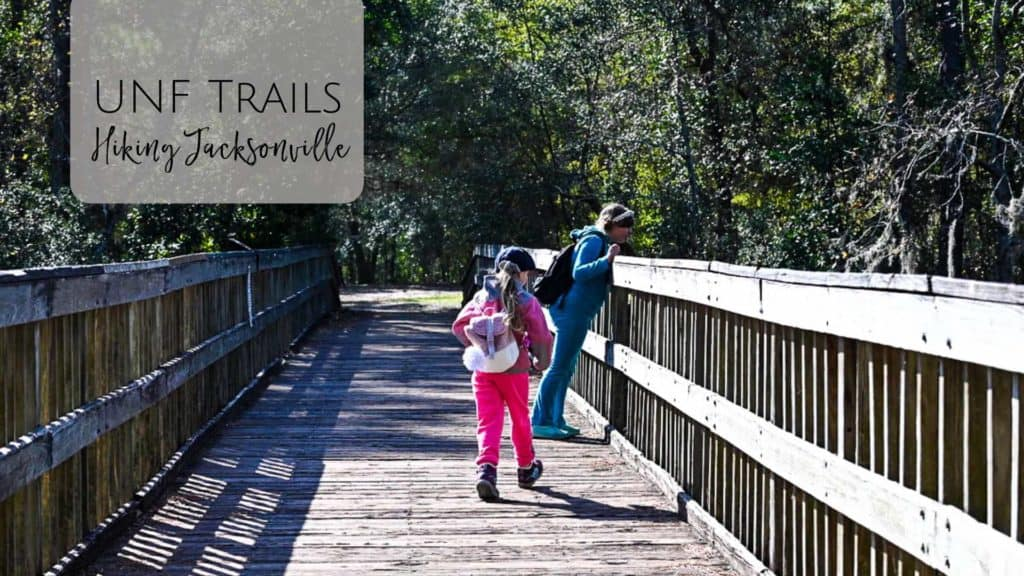 Hiking UNF Trails in Jacksonville with Kids